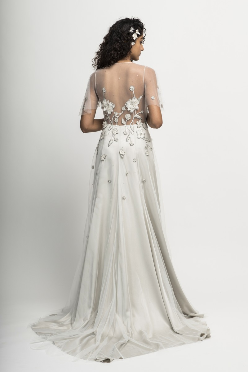Back of Verita Wedding Dress from the Alexandra Grecco Cloud Nine 2019 Bridal Collection