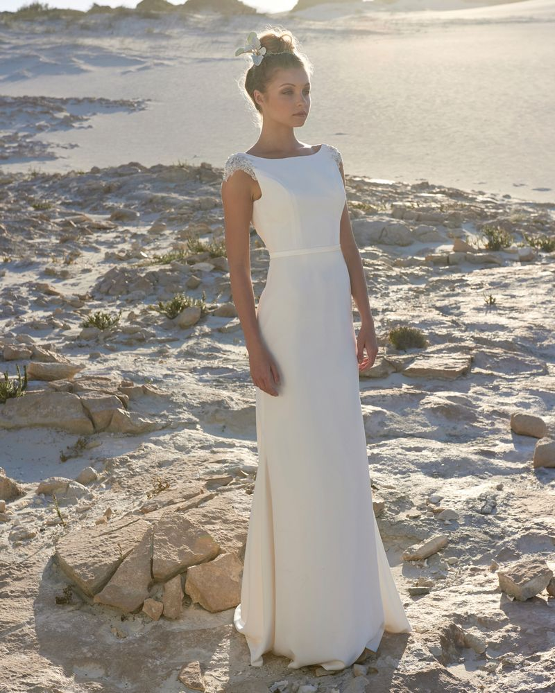 Victoria Wedding Dress from the Elbeth Gillis Luminescence 2019 Bridal Collection