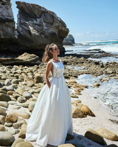 Violette Wedding Dress from the Elbeth Gillis Luminescence 2019 Bridal Collection