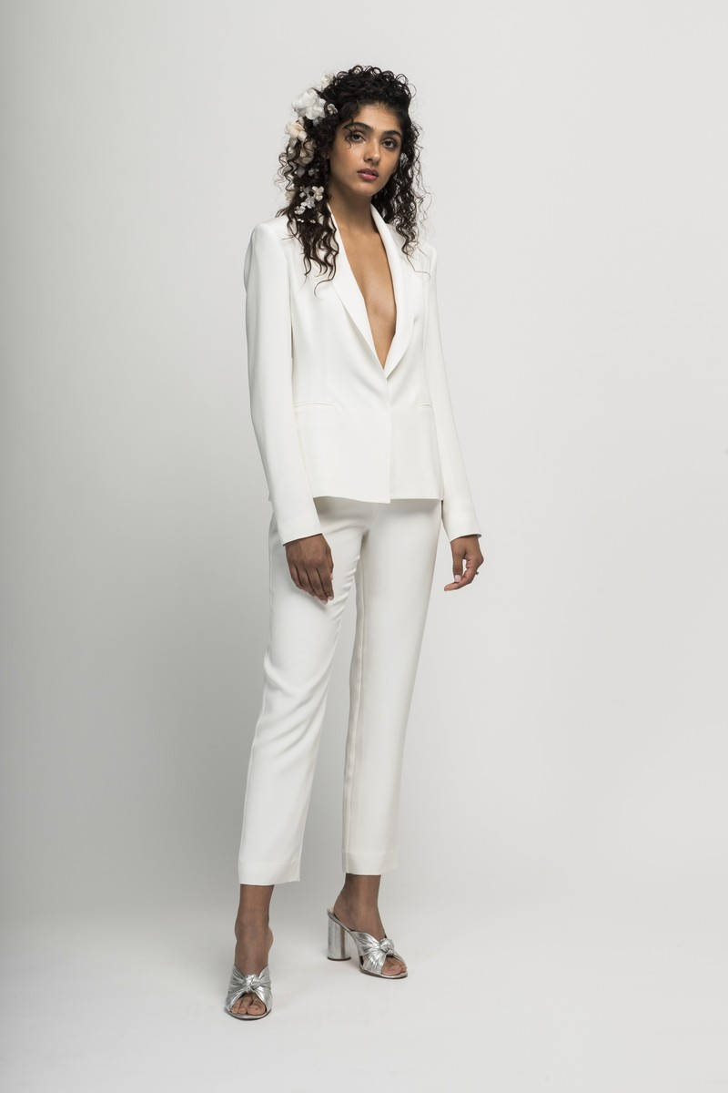 Vita Bridal Suit from the Alexandra Grecco Cloud Nine 2019 Bridal Collection