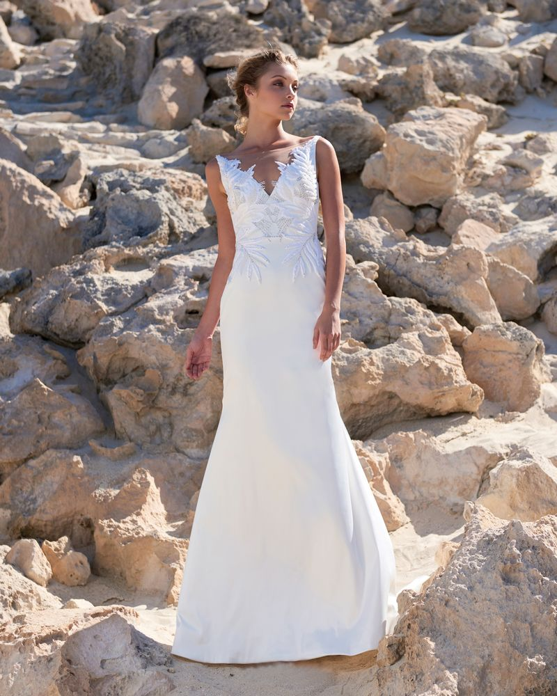 Zoe Wedding Dress from the Elbeth Gillis Luminescence 2019 Bridal Collection