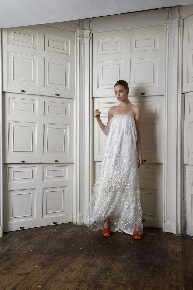 Camden Layered Wedding Dress by Halfpenny London