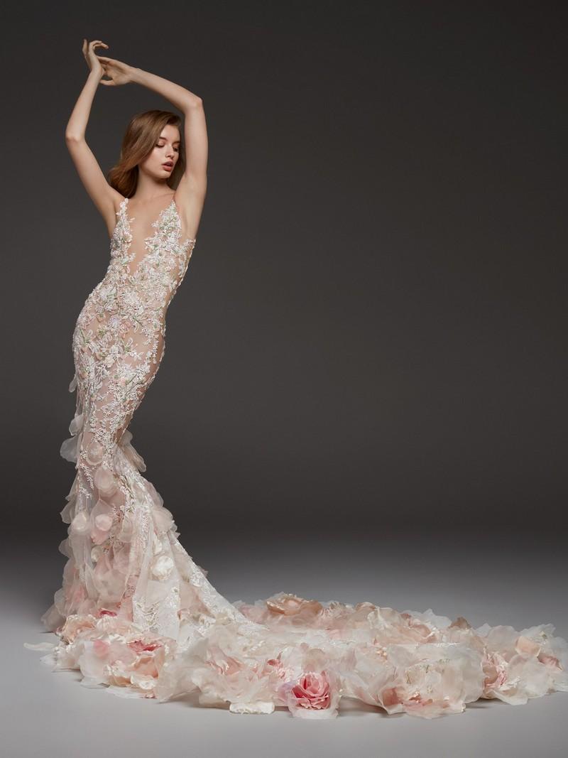 Carolina Mermaid Wedding Dress by Pronovias