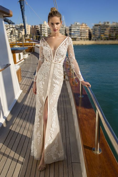 DR248 Wedding Dress from the Demetrios Destination Romance 2019 Bridal Collection