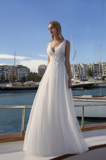 DR261 Wedding Dress from the Demetrios Destination Romance 2019 Bridal Collection