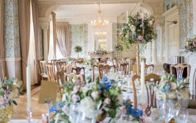 An Elegant Pendley Manor Wedding with Garden Flowers
