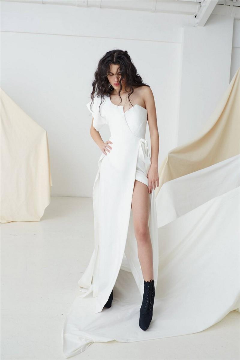 Malina Ivory Wrap Wedding Dress by Vivienne Westwood