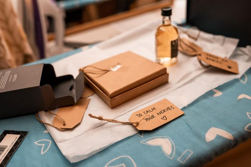 Miniatures groomsmen gifts