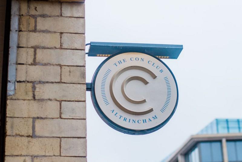 The Con Club sign