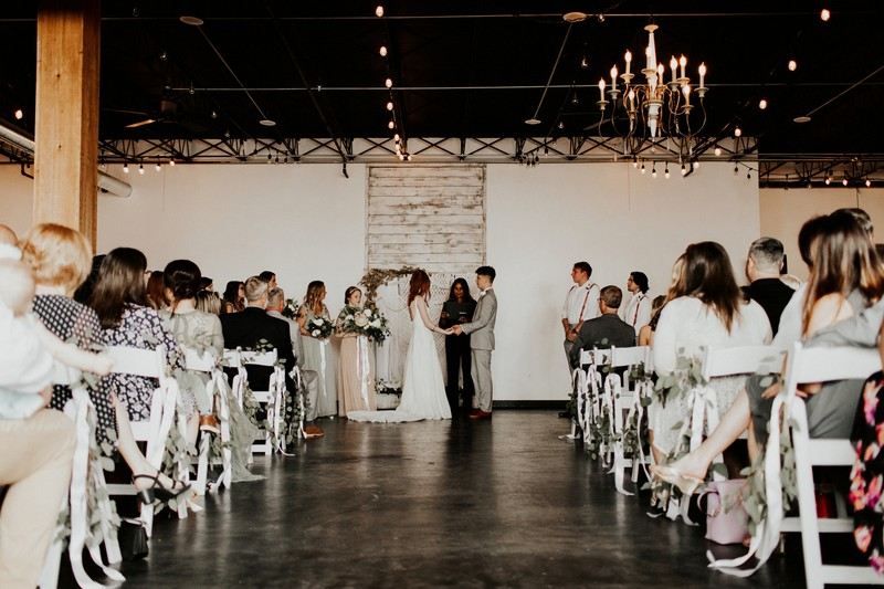 Wedding ceremony in Events on Main