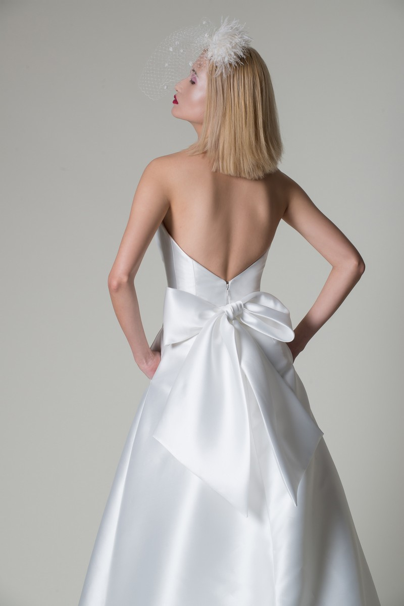 Back of Aria Wedding Dress from the Alan Hannah Moonshadow 2020 Bridal Collection