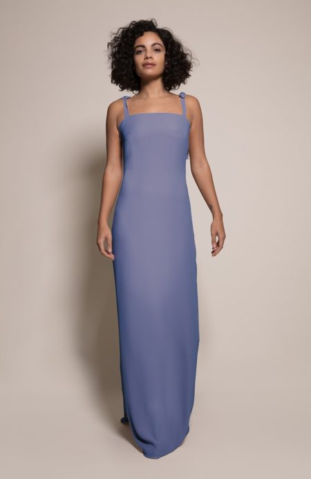 Berlin Bridesmaid Dress in Bluebell from the Rewritten SS19 Collection