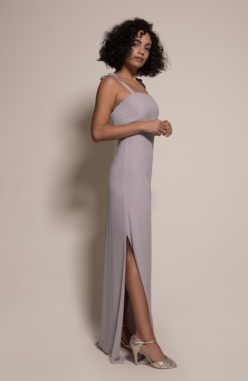 Berlin Bridesmaid Dress in Concrete from the Rewritten SS19 Collection