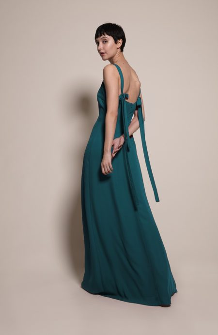 Berlin Bridesmaid Dress in Forest from the Rewritten SS19 Collection