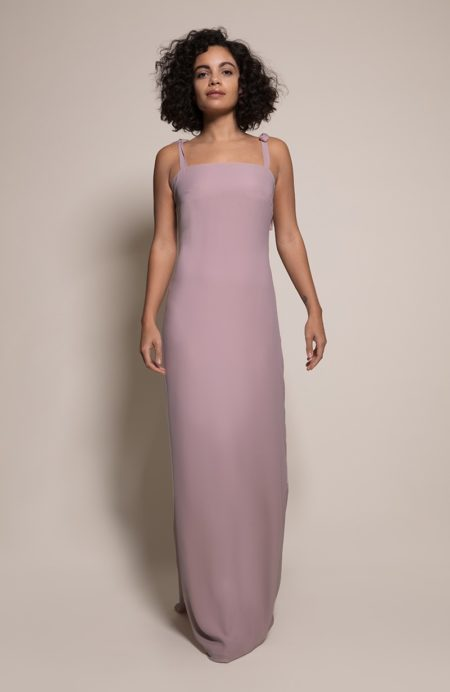 Berlin Bridesmaid Dress in Heather from the Rewritten SS19 Collection