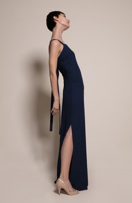 Berlin Bridesmaid Dress in Ink from the Rewritten SS19 Collection