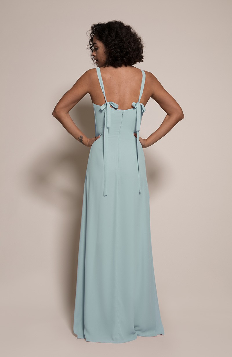 Berlin Bridesmaid Dress in Marine from the Rewritten SS19 Collection