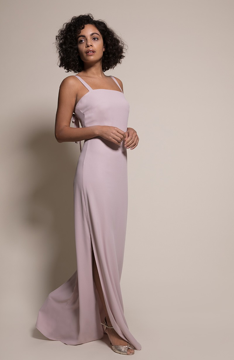 Berlin Bridesmaid Dress in Oyster from the Rewritten SS19 Collection