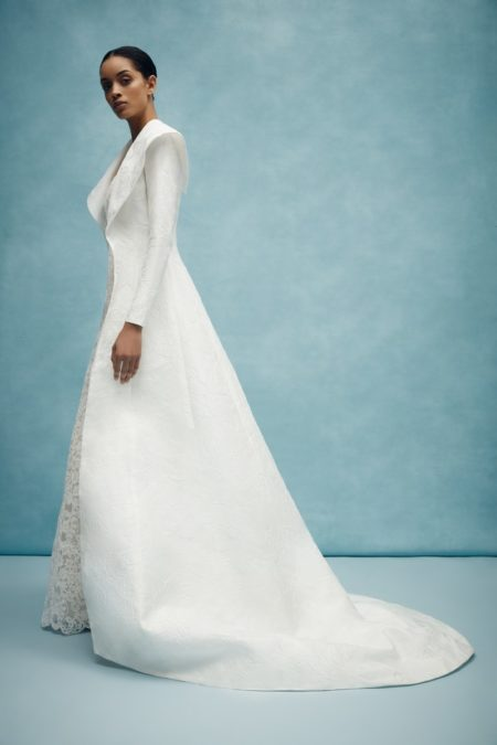 Covington Coat from the Anne Barge Spring 2020 Bridal Collection