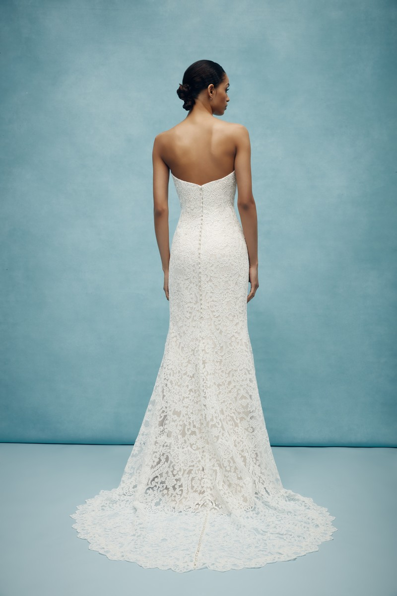 Back of Cumberland Wedding Dress from the Anne Barge Spring 2020 Bridal Collection