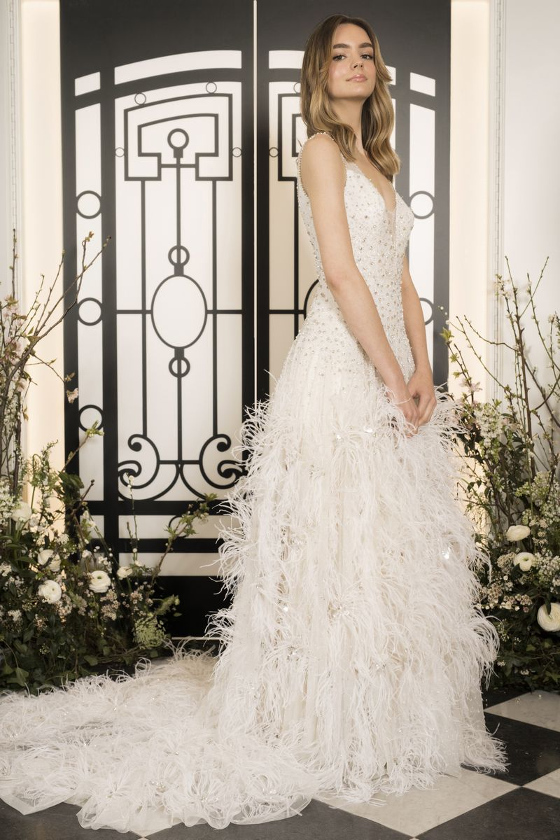 Etoile Wedding Dress from the Jenny Packham 2020 Bridal Collection