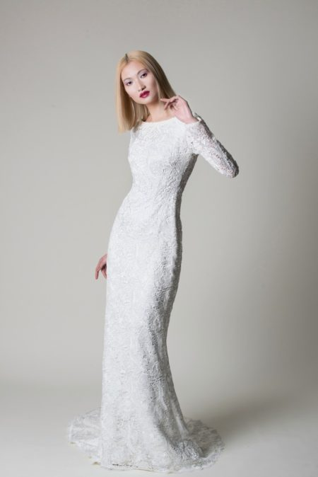 Evie Wedding Dress from the Alan Hannah Moonshadow 2020 Bridal Collection