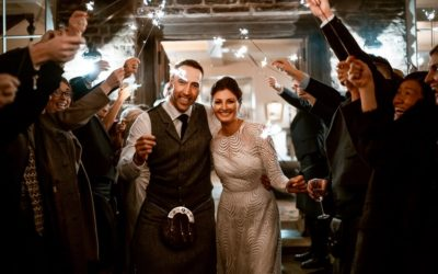 A Rustic, Informal Winter Wedding at Dewsall Court