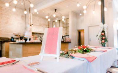 Bridal Shower Styling Using 2019 Wedding Trends