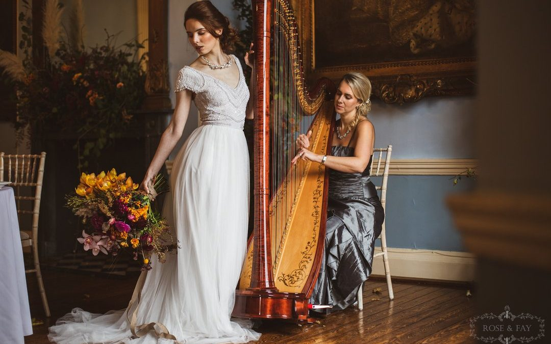 Opulent Wedding Styling with Autumnal Colours