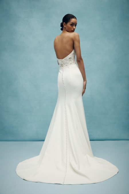 Back of Jasper Wedding Dress from the Anne Barge Spring 2020 Bridal Collection