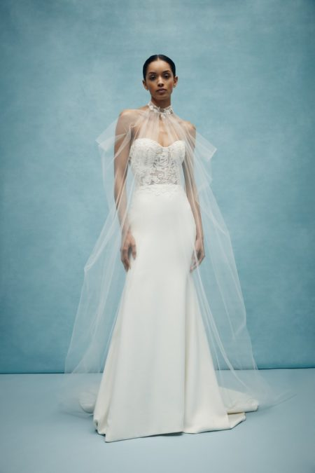 Jasper Cape from the Anne Barge Spring 2020 Bridal Collection