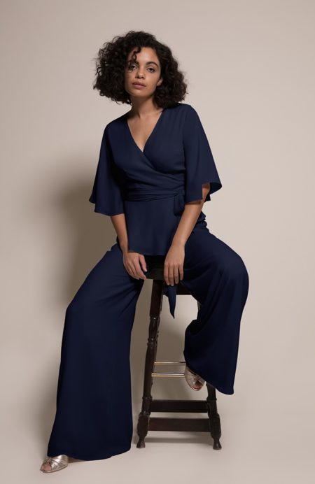 Kyoto Top with Amalfi Trousers from the Rewritten SS19 Collection