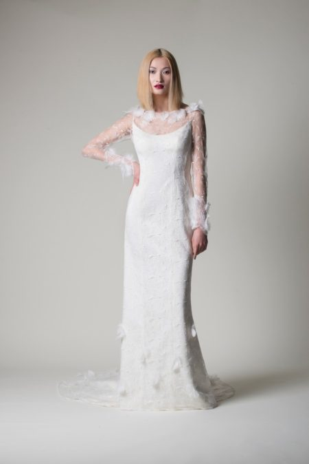 Leyla Wedding Dress from the Alan Hannah Moonshadow 2020 Bridal Collection