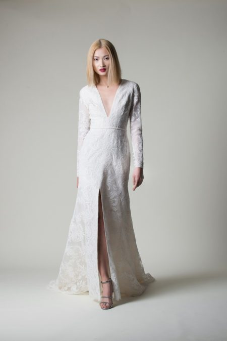 Lucy Wedding Dress from the Alan Hannah Moonshadow 2020 Bridal Collection