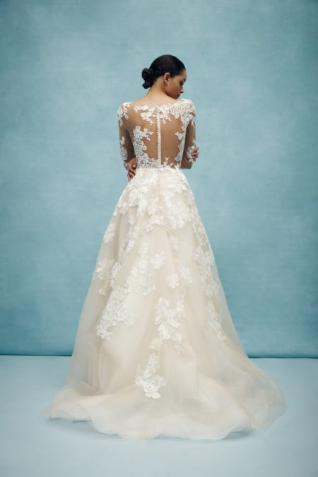 Back of Lula Wedding Dress from the Anne Barge Spring 2020 Bridal Collection