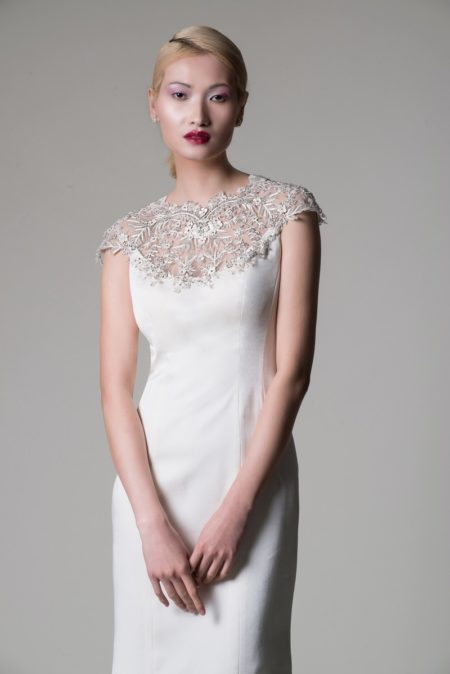 Nerys Wedding Dress from the Alan Hannah Moonshadow 2020 Bridal Collection