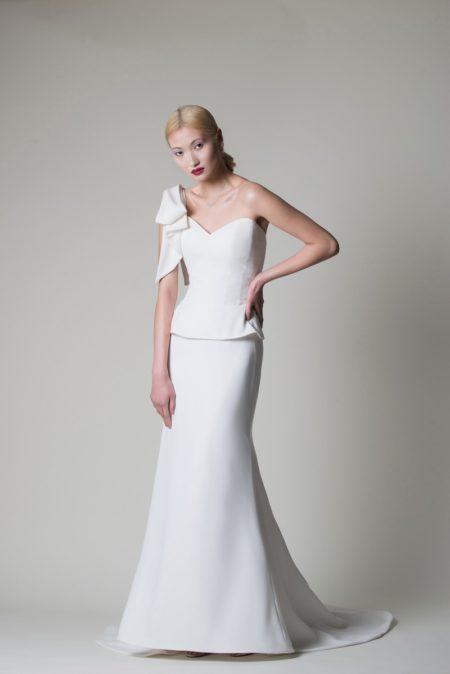 Olivia Wedding Dress from the Alan Hannah Moonshadow 2020 Bridal Collection