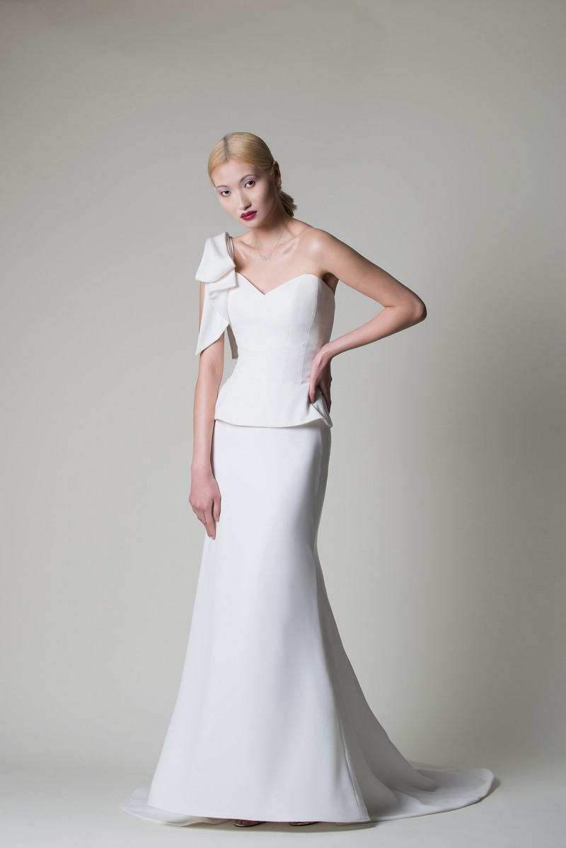 Olivia Wedding Dress from the Alan Hannah Moonshadow 2020 Bridal Collection