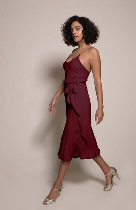 Oslo Bridesmaid Dress in Chianti from the Rewritten SS19 Collection