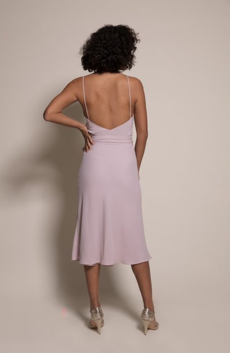 Oslo Bridesmaid Dress in Oyster from the Rewritten SS19 Collection