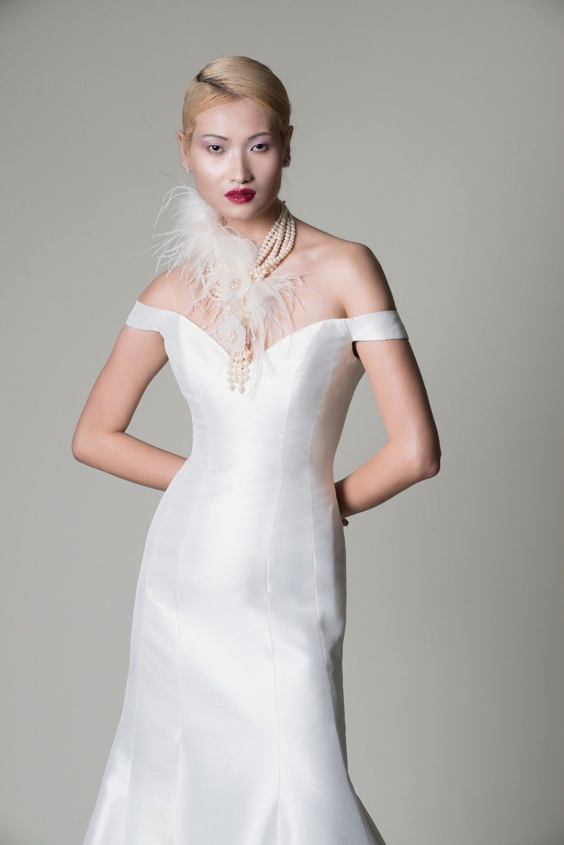 Poppy Wedding Dress from the Alan Hannah Moonshadow 2020 Bridal Collection