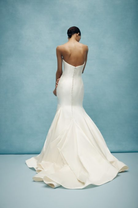 Back of Roswell Wedding Dress from the Anne Barge Spring 2020 Bridal Collection