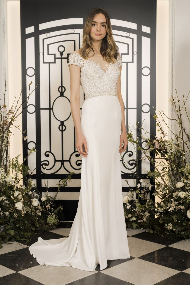Simone Wedding Dress from the Jenny Packham 2020 Bridal Collection