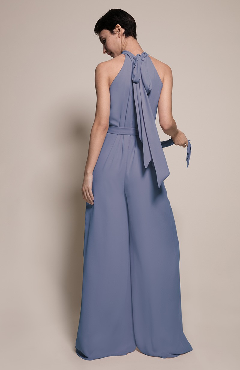 Soho Bridesmaid Jumpsuit in Bluebell from the Rewritten SS19 Collection