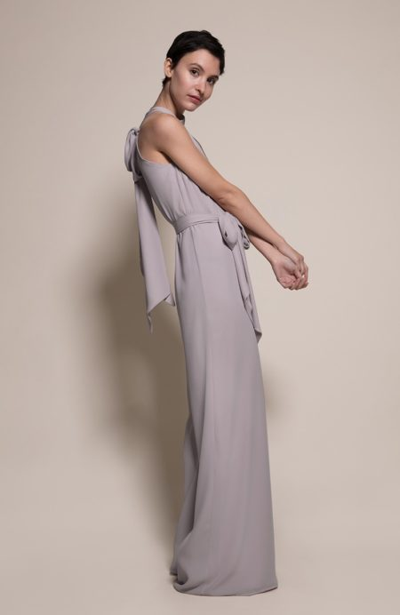 Soho Bridesmaid Jumpsuit in Concrete from the Rewritten SS19 Collection