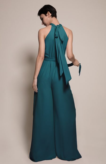 Soho Bridesmaid Jumpsuit in Forest from the Rewritten SS19 Collection