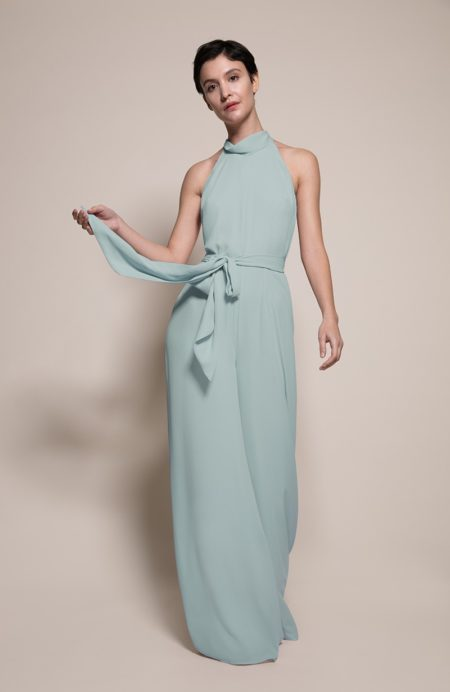Soho Bridesmaid Jumpsuit in Marine from the Rewritten SS19 Collection