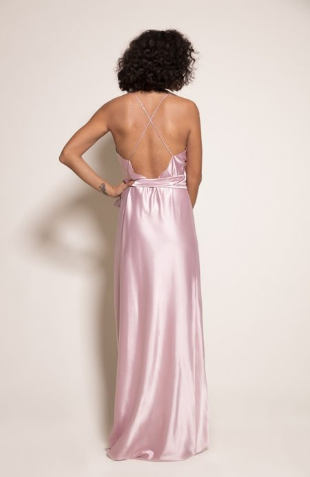 Sydney Bridesmaid Dress in Candyfloss from the Rewritten SS19 Collection