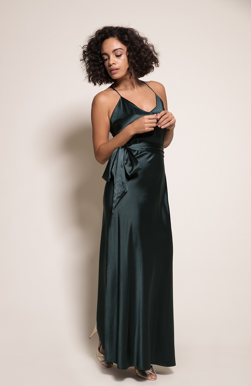 Sydney Bridesmaid Dress in Forest from the Rewritten SS19 Collection