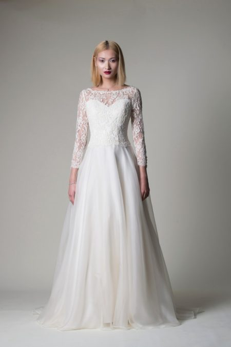 Theodora Wedding Dress from the Alan Hannah Moonshadow 2020 Bridal Collection